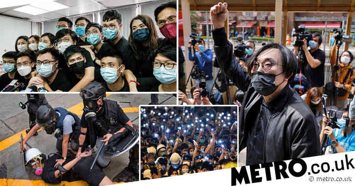 Hong Kong re-arrests dozens of pro-democracy activists under controversial law