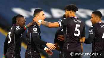 Leeds United 0-1 Aston Villa: Villa six points off top four after win