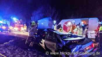 Schwerer Verkehrsunfall auf der B 441 zwischen Stolzenau und Nendorf - blickpunkt-nienburg.de