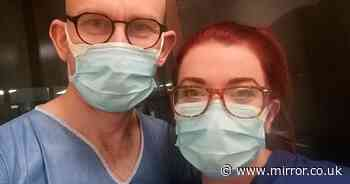 NHS workers fall in love while working in ICU and 'head to toe' in PPE