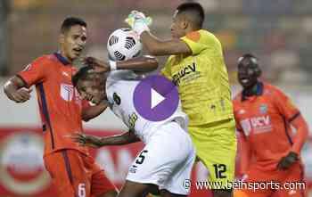 Aburrido empate 0-0 entre Universidad César Vallejo y Caracas - beIN SPORTS USA Español