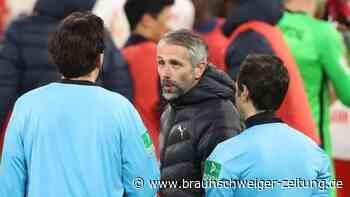 Borussia-Pleite in Leipzig: Verpasste Wende: Gladbach-Coach Rose vor BVB-Spiel gereizt