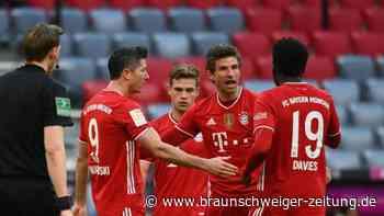 """5:1 gegen Köln: Müller und Gnabry machen Bayern-Coach Flick """"happy"""""""