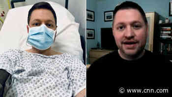 He's had Covid-19 symptoms for a year. Hear his daily battle