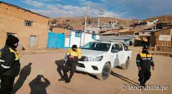 Coronavirus: Cerro de Pasco: decenas de personas fueron detenidas por irrumpir la cuarentena - LaRepública.pe