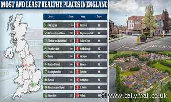 Wokingham is healthiest place in England and Blackpool the unhealthiest in new index