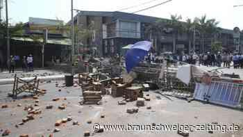 Nach Militärputsch: Medien: Tote und Verletzte bei blutigen Protesten in Myanmar