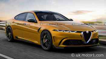 Stunning Alfa Romeo saloon unofficial rendering imagines BMW 5er rival