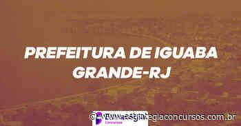 Concurso Iguaba Grande: confira os gabaritos preliminares... - Estratégia Concursos