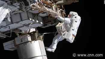 NASA spacewalk: Watch astronauts Kate Rubins and Victor Glover outside the space station