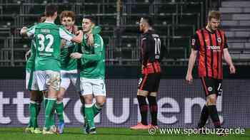 Werder Bremen stoppt Champions-League-Lauf von Eintracht Frankfurt - Sargent als Matchwinner - Sportbuzzer