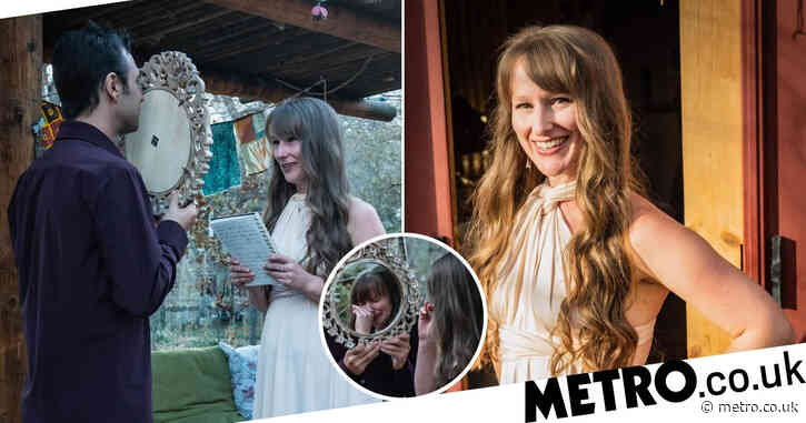 Woman spends £1,000 to marry herself after breaking up with boyfriend