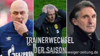 Gross Nummer acht: Die Trainerwechsel der Bundesliga-Saison