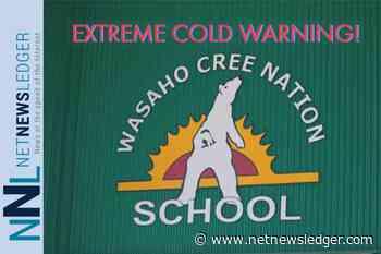 Weather Warning - Extreme Cold for Washaho Cree Nation - Sachigo Lake - Sandy Lake - Kasabonika - Bearskin Lake - Net Newsledger