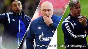 Schalke-Bank als Schleudersitz: 15 Trainer seit Sommer 2009