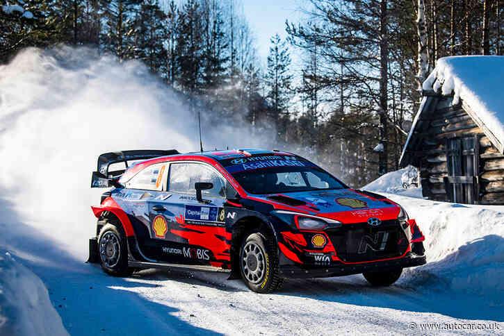 Hyundai's Ott Tanak wins WRC Arctic rally