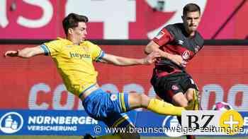 Eintracht Braunschweig holt einen Punkt in Nürnberg