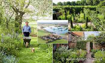 Monty Don's incredible showpiece garden where he films Gardener's World is threatened by floods