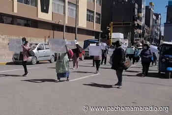 Piden desalojar a cachineros de la avenida Abancay de Juliaca - Pachamama radio 850 AM