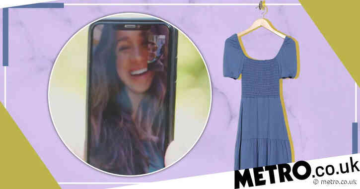 Meghan Markle wears £22 blue dress on Late Late Show – and you can still buy it online