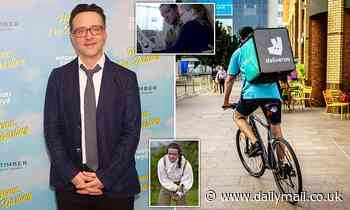 Poldark and The Crown actor Richard Harrington became Deliveroo delivery rider during lockdown
