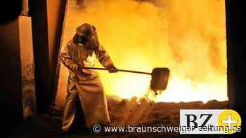 In der Stahlindustrie geht es  ab Montag um mehr Geld