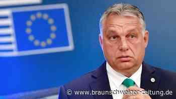 Europaparlament: Orban droht mit Austritt der Fidesz-Gruppe aus EVP-Fraktion