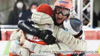 Nordische Ski-WM: Nächster Coup: Deutsches Skisprung-Mixed holt wieder Gold