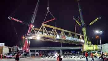 A39: Einbau von Behelfsbrücken am Kreuz BS-Süd