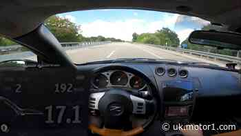 Nissan 350Z hits German Autobahn for impressive top speed run
