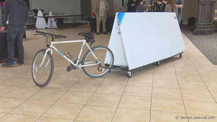 Volunteers Build Bike Shelters For Homeless Youth: 'So Much Trauma In Their Life'