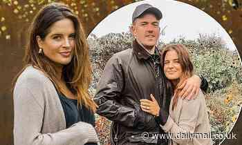 Pregnant Binky Felstead reveals fiancé Max Darnton felt 'helpless' after she suffered a miscarriage