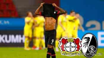 Bayer 04 Leverkusen gegen SC Freiburg 1:2, 23. Spieltag