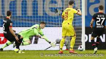 23. Spieltag: Heimniederlage: Leverkusen-Krise bringt Trainer Bosz in Not