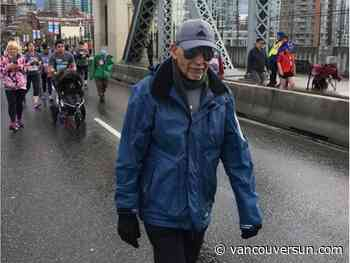 Seniors celebrate staying active with this year's Vancouver Sun Run Virtual Race