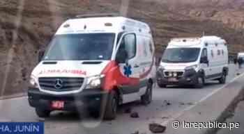 Junín: mineros de Morococha bloquean carretera central contra despidos | VIDEO | FOTOS - LaRepública.pe
