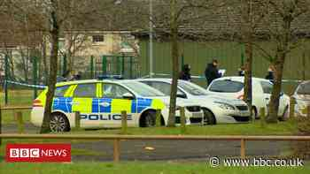 Three men stabbed in group attack at Glasgow football centre