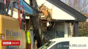 Dymchurch: Digger used in failed bid to steal cash machine