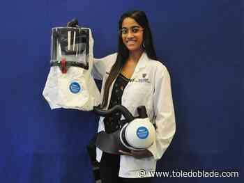 UT medical student invents negative-pressure helmet to treat virus-stricken patients