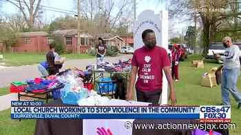 'Stop the violence' community outreach event in northwest Jacksonville - ActionNewsJax.com