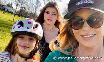 Amanda Holden thrills fans with stunning selfie with lookalike daughters