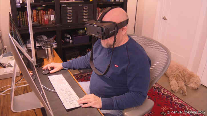 Electronic Headset Helps Legally Blind Colorado Graphic Designer See