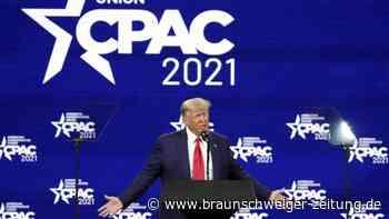 Konferenz CPAC: Ex-Präsident Trump schließt Kandidatur 2024 nicht aus