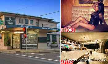 Seedy Sydney strip joint is turned into a family-friendly pub after $10million facelift