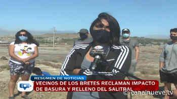 Vecinos de Los Bretes reclaman impacto de basura y relleno del salitral - Canal 9