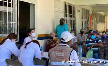 Más de 8 mil dosis de vacunas covid se han aplicado en Guamúchil en tres días - Debate