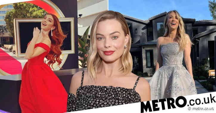 Golden Globes 2021: Kaley Cuoco and Margot Robbie lead the glamour for virtual red carpet