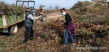 Desbroce y limpieza del entorno de Villavieja en Nalda - La Rioja
