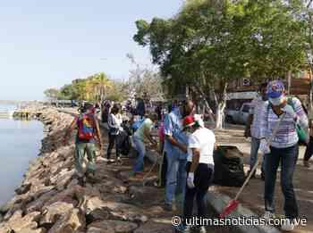 Recogen desechos en márgenes de la laguna de Puerto Píritu - Últimas Noticias