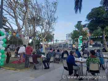 Adultos mayores disfrutaron una tarde musical en la Plaza Yungay de Valparaíso - Diario Crónica Digital